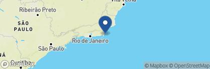 Map of Pousada Canto das Aguas, Brazil