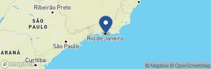 Map of PortoBay Rio de Janeiro, Brazil