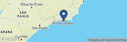 Map of Hotel Emiliano, Brazil