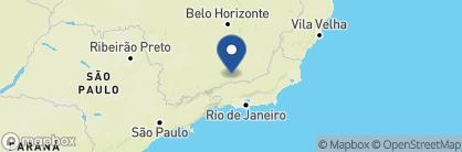 Map of Reserva do Ibitipoca, Brazil