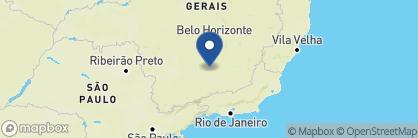 Map of Pousada Villa Allegra, Brazil