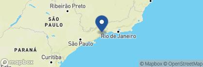 Map of Casa Cairucu, Brazil
