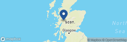 Map of Inverlochy Castle, Scotland