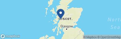 Map of Ballachulish Hotel, Scotland