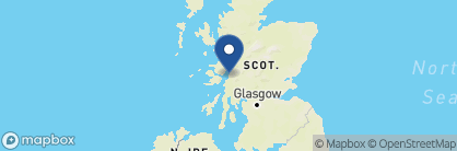 Map of Barcaldine Castle, Scotland