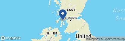 Map of West Loch Hotel, Scotland