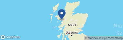 Map of Eilean Iarmain, Scotland