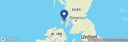 Map of The Jura Hotel, Scotland