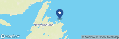 Map of Fogo Island Inn, Canada
