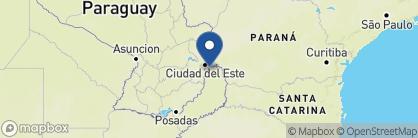 Map of Gran Melia Iguazú Resort & Spa, Argentina
