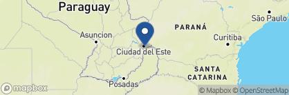 Map of La Aldea de la Selva, Argentina