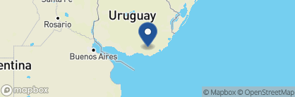 Map of Sacromonte Landscape Hotel, Uruguay