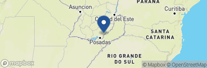 Map of Hotel Papillon, Paraguay