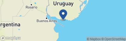 Map of Sofitel Montevideo, Uruguay