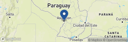 Map of Hotel Las Margaritas, Paraguay