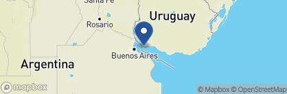 Map of Hotel Plaza Mayor Colonia, Uruguay