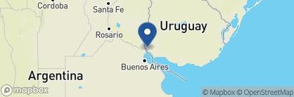 Map of Carmelo Resort & Spa, A Hyatt Hotel, Uruguay