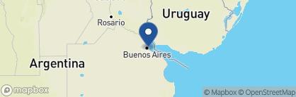 Map of Faena Hotel, Argentina