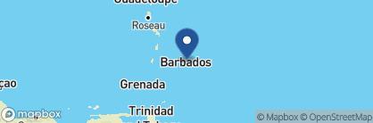 Map of Atlantis Hotel, Barbados