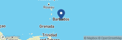 Map of Little Arches Boutique Hotel, Barbados