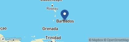 Map of Sandpiper, Barbados