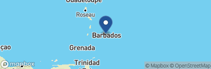 Map of Little Good Harbour, Barbados
