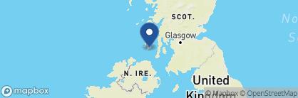 Map of Islay Hotel, Scotland