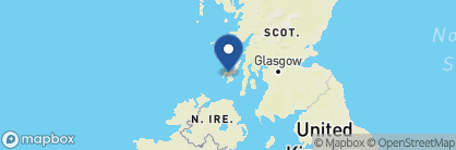 Map of Islay House, Scotland