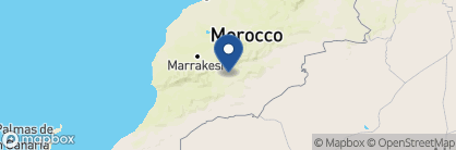 Map of Dar Ahlam, Morocco