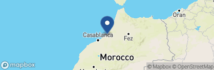 Map of Villa Mandarine, Morocco