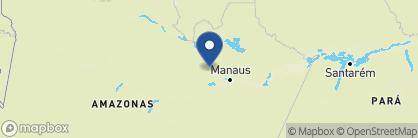 Map of Anavilhanas Lodge, Brazil