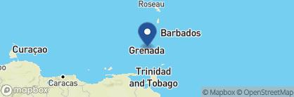 Map of Petite Anse, Grenada