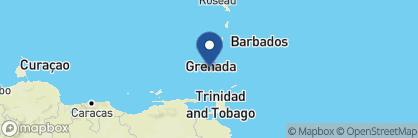 Map of Calabash, Grenada