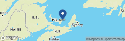 Map of The Inn at Bay Fortune, Canada