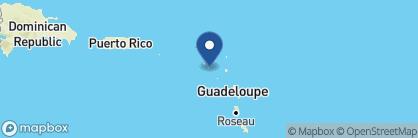 Map of Golden Rock Inn, Saint Kitts and Nevis