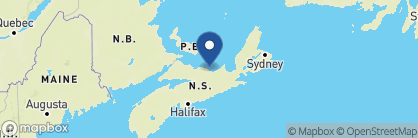 Map of Pictou Lodge Resort, Canada