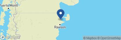 Map of Estancia Rincon Chico, Argentina