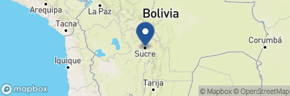 Map of Parador Santa Maria la Real, Bolivia