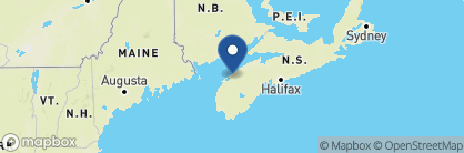 Map of Queen Anne Inn, Canada