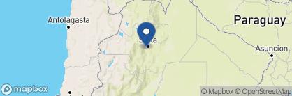 Map of La Casa de los Jasmines, Argentina