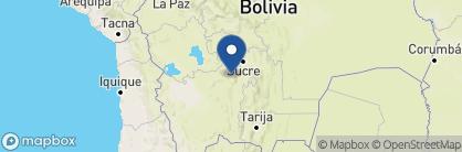 Map of Hotel Coloso, Bolivia