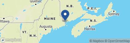 Map of Rossmount Inn, Canada