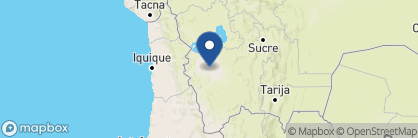 Map of Deluxe Airstream Camper, Bolivia