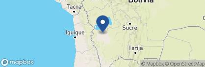 Map of Hotel de Sal, Bolivia