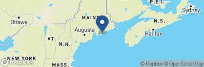 Map of Harborside Hotel, Spa & Marina, New England