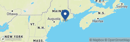 Map of Blue Nose Inn, New England