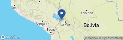 Map of Inca Utama Hotel & Spa, Bolivia