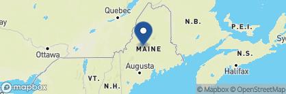 Map of Blair Hill Inn, New England