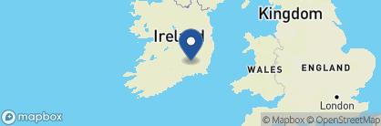 Map of Mount Juliet, Ireland