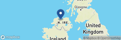 Map of Bishop's Gate Hotel, Ireland